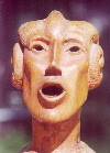 Mouthman - Sculpter in wood by M. Stokes Redabaugh